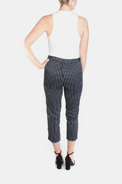 Honey Punch Pinstripe Trousers - Alternate List Image