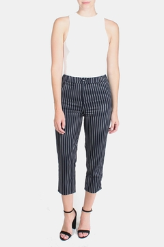 Honey Punch Pinstripe Trousers - Product List Image