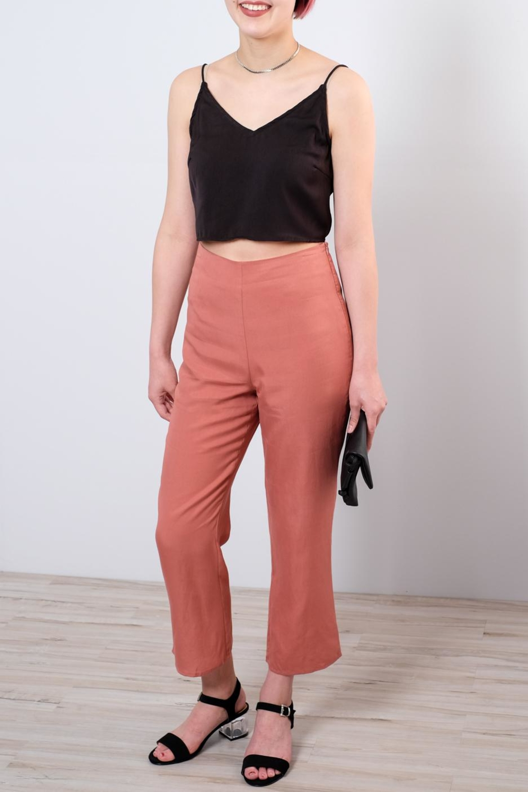 Honey Punch High Waisted Trousers - Main Image