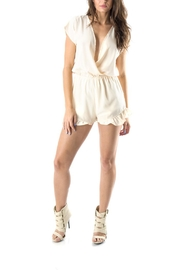 Honey Punch Ivory Spring Romper - Product Mini Image