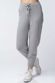 Honey Punch Knit Sweatpants - Front cropped