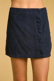 Honey Punch Like-Clockwork Corduroy Skirt - Product Mini Image