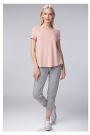 Honey Punch Mineral Wash Tee - Front cropped