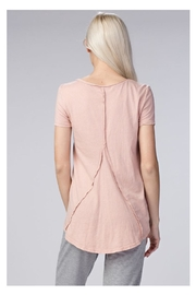 Honey Punch Mineral Wash Tee - Front full body