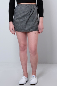 Honey Punch Mini Wrap Skirt - Product List Image