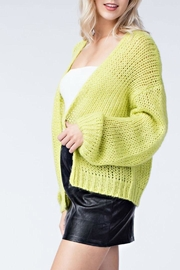 Honey Punch Neon Cardigan - Back cropped