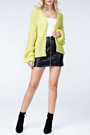 Honey Punch Neon Cardigan - Side cropped