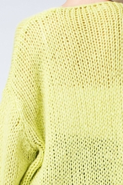Honey Punch Neon Cardigan - Other