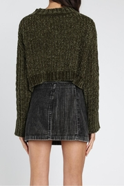 Honey Punch Olvera Chunky-Knit Sweater - Back cropped