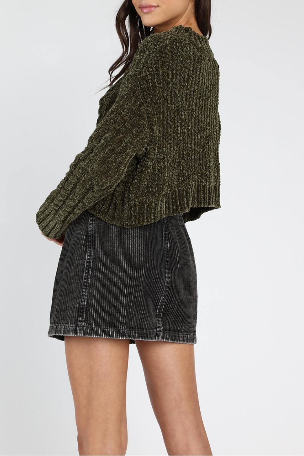 Honey Punch Olvera Chunky-Knit Sweater - Side Cropped Image