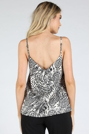 Honey Punch Paisley Cami Top - Back cropped