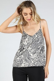 Honey Punch Paisley Cami Top - Front cropped