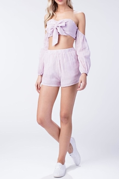 Honey Punch Pink Bra Top - Product List Image