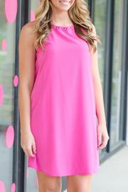 Honey Punch Pink Courtney Dress - Front cropped