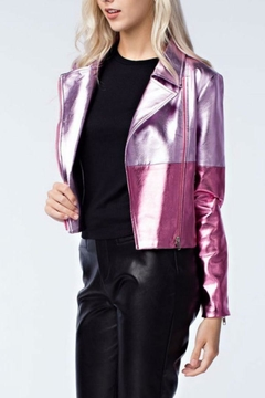 Honey Punch Pink Metallic Jacket - Alternate List Image