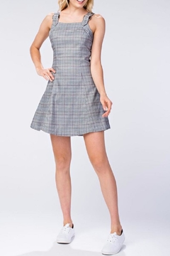 Shoptiques Product: Plaid Tank Dress