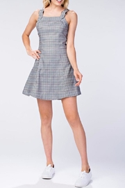Honey Punch Plaid Tank Dress - Product Mini Image
