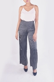Honey Punch Polk-Dot Trouser Pants - Product Mini Image