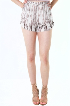 Shoptiques Product: Printed High Waisted Shorts