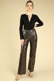 Honey Punch Python Leather Pants - Other