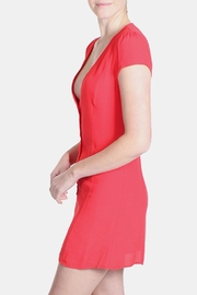 Honey Punch Red Bombshell Dress - Back cropped