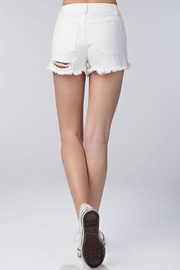 Honey Punch Rosanne Short White - Front full body