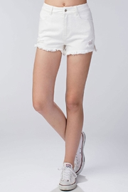 Honey Punch Rosanne Short White - Front cropped