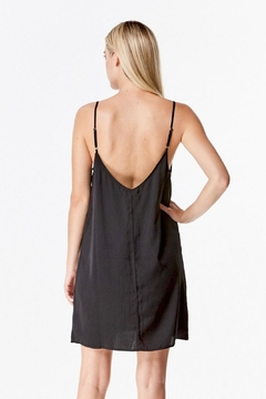 Honey Punch Satin Slip Dress - Alternate List Image