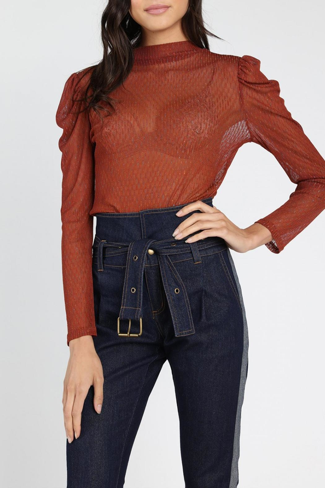 Honey Punch Saturday-Night Fever Top - Front Full Image