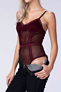 Shoptiques Product: Sheer Mesh Bodysuit
