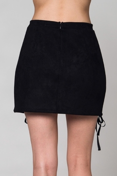 Honey Punch Lace Up Skirt - Alternate List Image