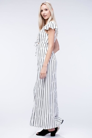 Honey Punch Stripe Maxi Dress - Front full body