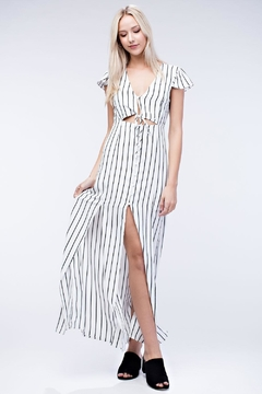 Shoptiques Product: Stripe Maxi Dress