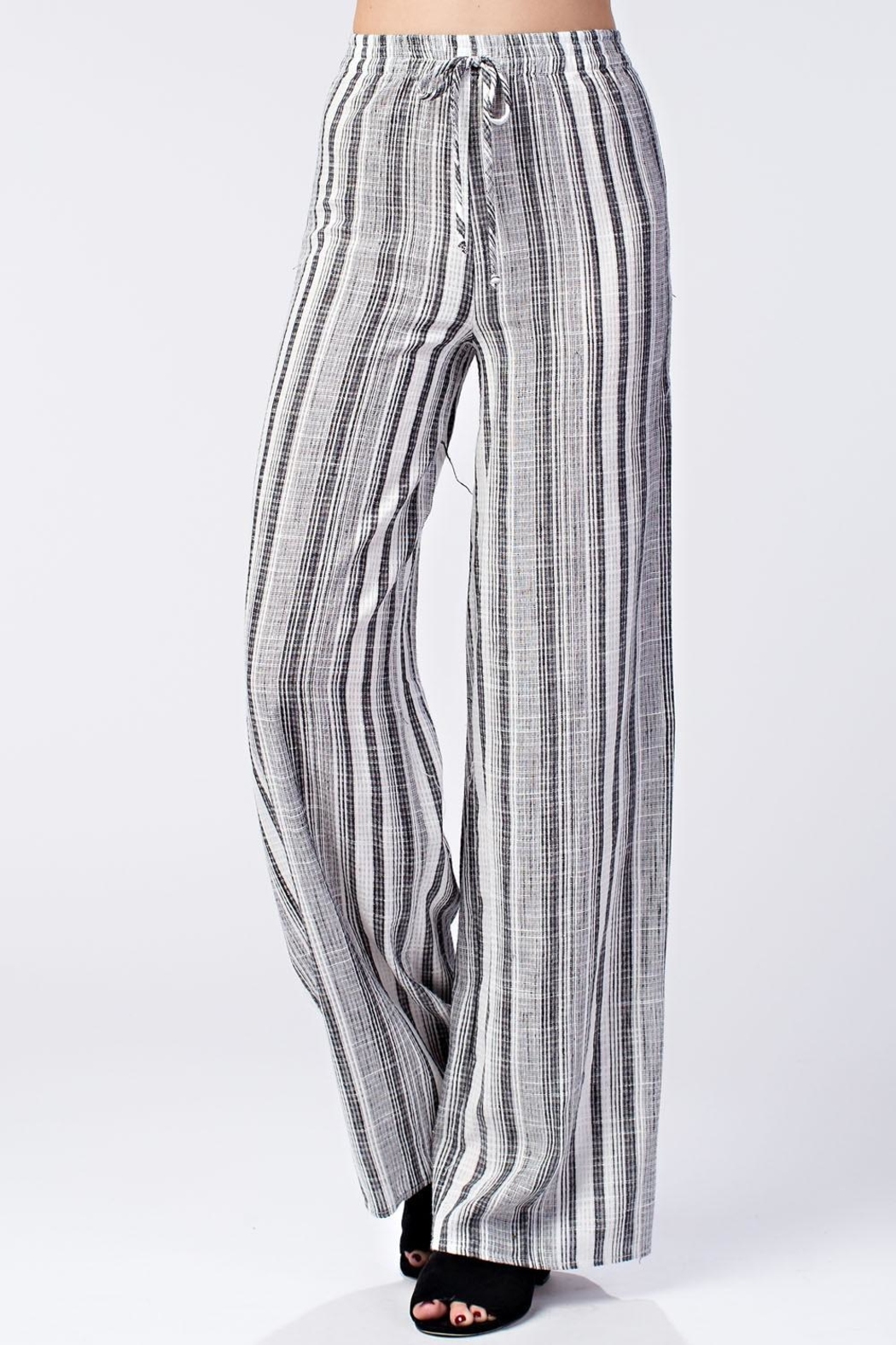 Honey Punch Stripe Pants - Main Image