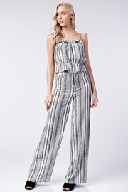 Honey Punch Stripe Pants - Front full body