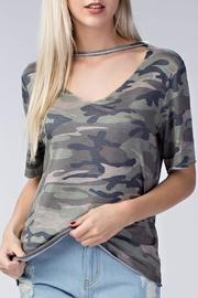 Honey Punch The Camo Tee - Product Mini Image