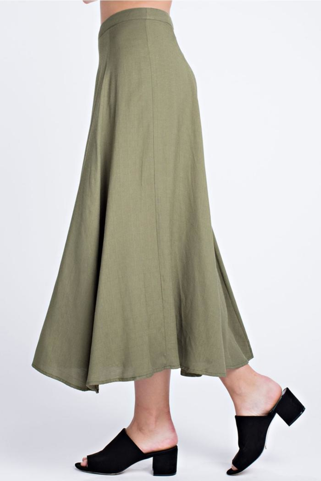 Honey Punch The Getaway Skirt - Side Cropped Image