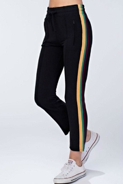 Honey Punch Track Pants - Product Mini Image