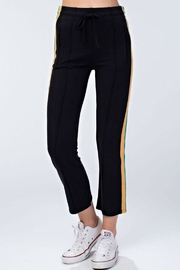 Honey Punch Track Pants - Back cropped