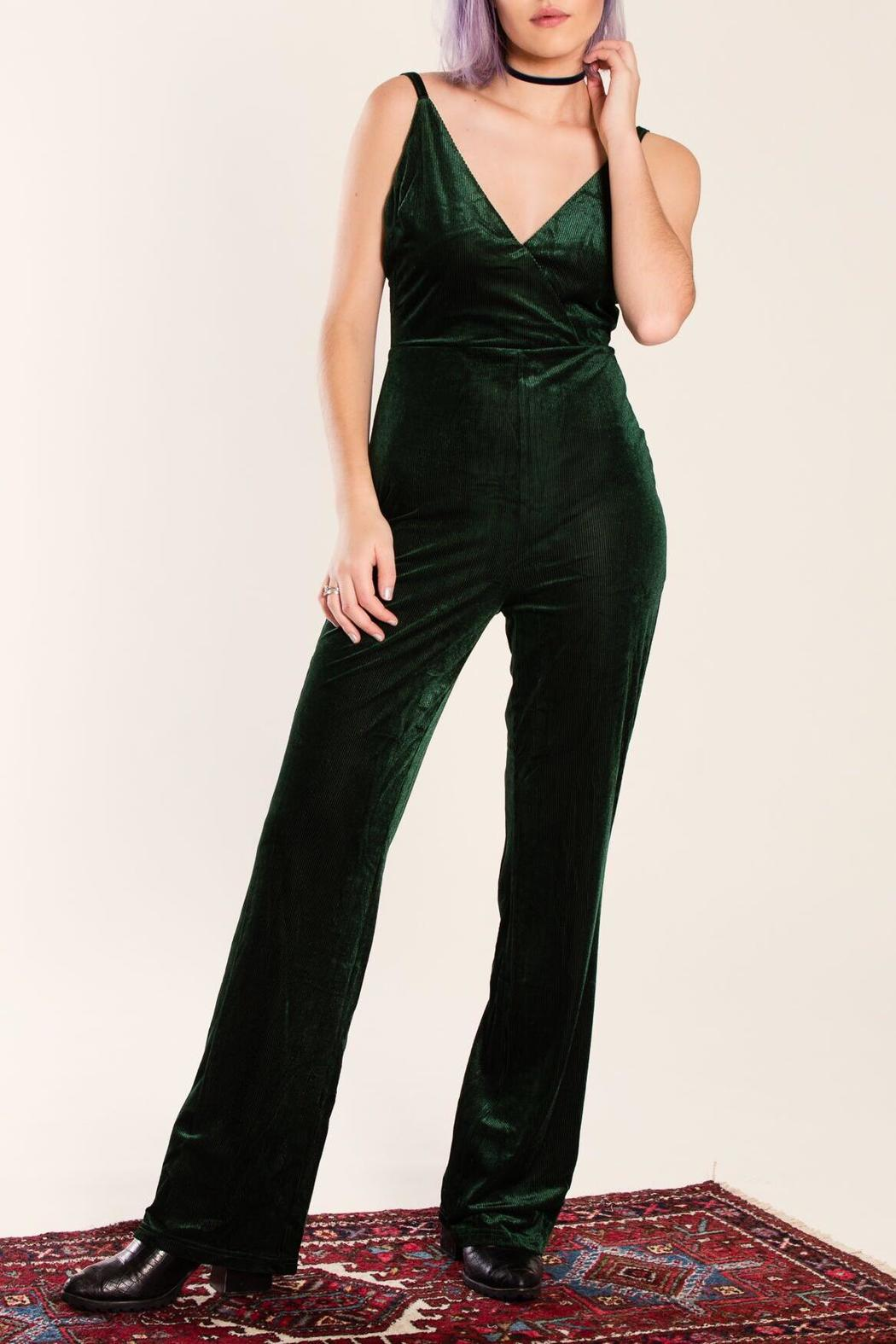 c4c7301b78f Honey Punch Velvet Jumpsuit from California by Isalis — Shoptiques