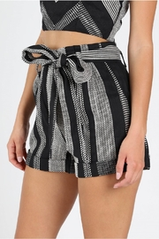 Honey Punch West Coast Textured-Shorts - Front full body