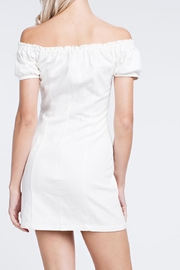 Honey Punch White Laceup Dress - Other