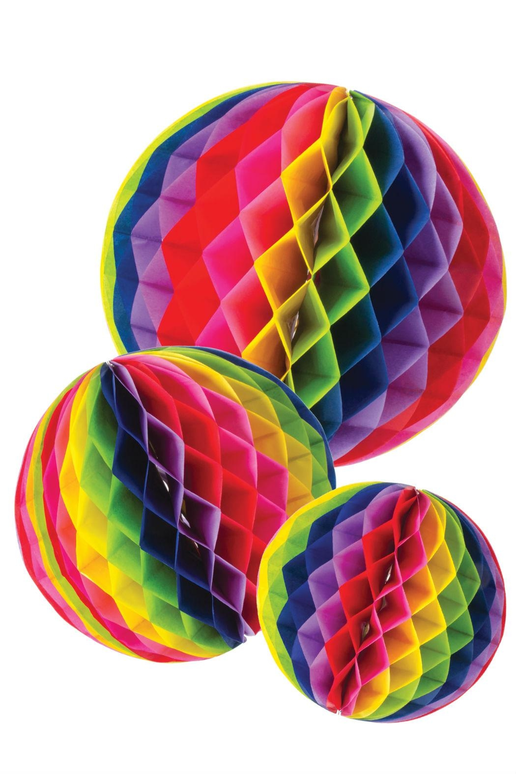 Party Partners Honeycomb Tissue Balls - Main Image