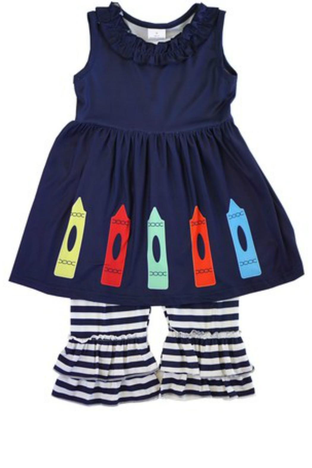 HONEYDEW Crayon Tunic Set - Main Image