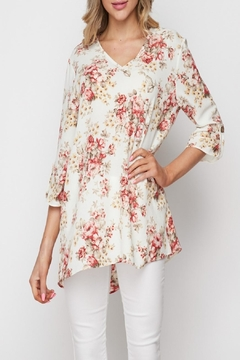 honeyme Floral High-Low Top - Product List Image