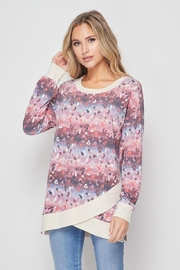 honeyme Multi-Color Animal-Print Top - Product Mini Image
