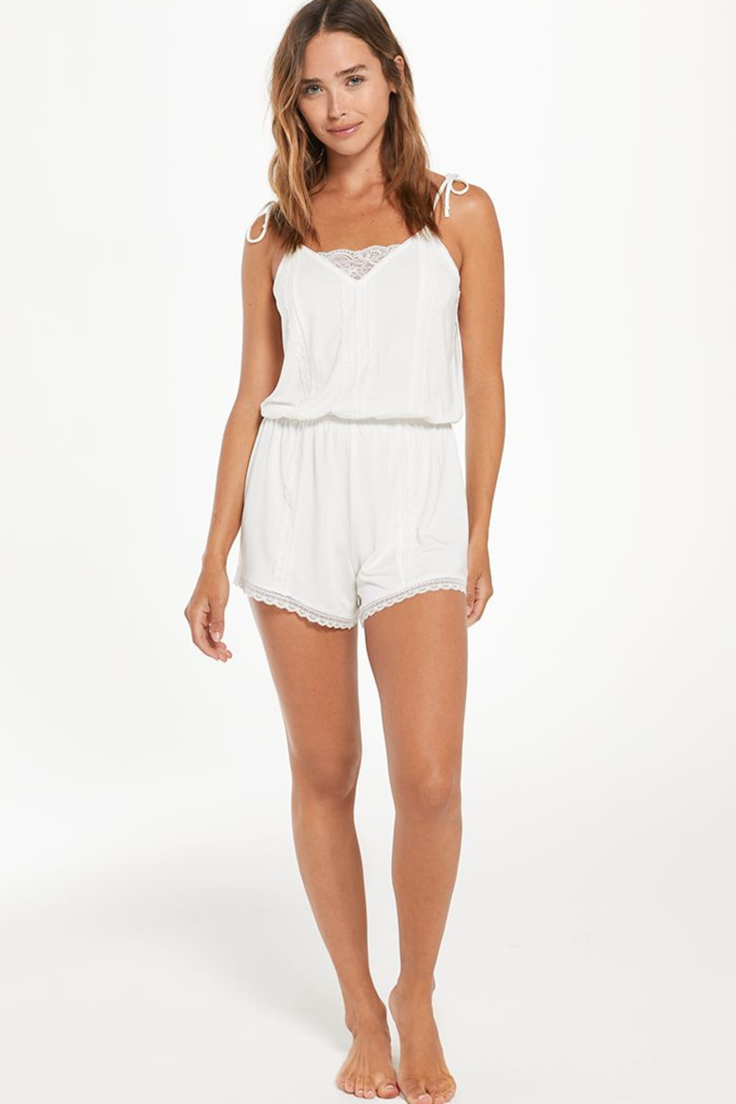 z supply Honeymoon Romper - Side Cropped Image