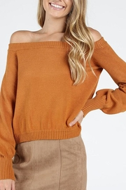 Honey Punch Honeysuckle Off-The-Shoulder Top - Product Mini Image