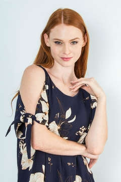 Simply Noelle Honolulu Cold-Shoulder Dress - Alternate List Image