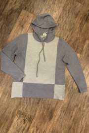 Sioni Hooded athleisure sweater - Product Mini Image